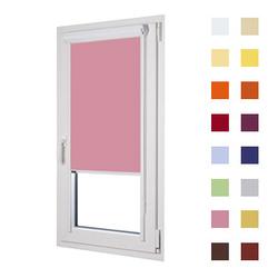 Kassettenrollo, Glasleistenrollo guenstig nach Mass oder in Standardgroessen, Farbe rosa