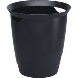 Papierkorb 16l schwarz