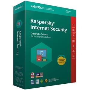 Kaspersky Internet Security 3 PC / Geräte 1 Jahr 2021 Multi-Device DE-Lizenz