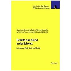 Beihilfe zum Suizid in der Schweiz - Buch