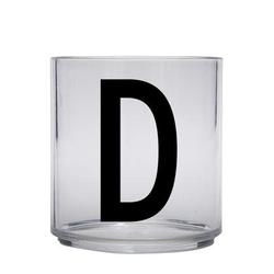 Design letters personalisiertes Trinkglas für Kinder Buchstabe D