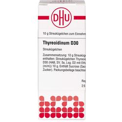 THYREOIDINUM D 30 Globuli 10 g