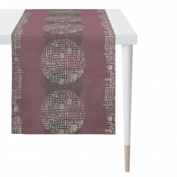 Tischläufer beere/lila (BL 48x140 cm) APELT