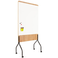 rocada mobiles Whiteboard Natural 100,0 x 120,0 cm weiß