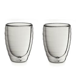 Latte-Macchiatoglas Cesena Glas transparent 2er Set 12,0cm 8,5cmØ 300,0ml