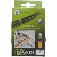 GAADI Fahrradschlauch Dunlop Ventil 40 mm, schwarz, M