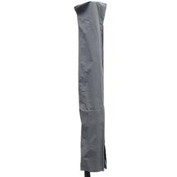 Madison Profi-Schutzhülle mit Stab für Ampel- oder Pendelschirme,grau,