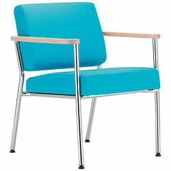 ZONE Sessel mit Armauflagen aus Buchenholz
