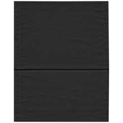 Tischläufer FINO schwarz(LB 150x40 cm) Magma
