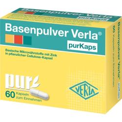 Basenpulver Verla purKaps