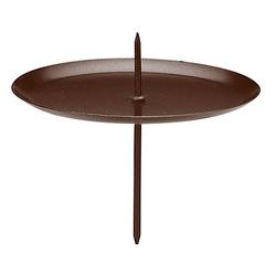 Kerzenhalter, schwarz, 7,5 cm Ø, 4 Stück