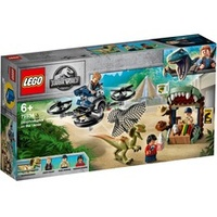 Lego Jurassic World Dilophosaurus auf der Flucht 75934