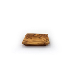mitienda Servierschale Schälchen viereckig 13 cm aus Holz