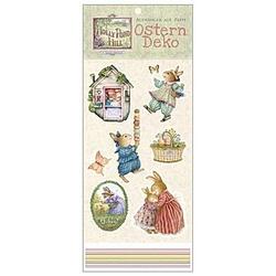 Ostern Deko, Aufhänger aus Pappe