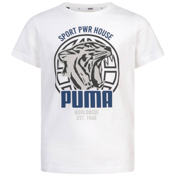 PUMA Alpha Graphic Chłopcy T-shirt 580229-02 - 164