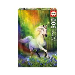 Educa Puzzle Puzzle Regenbogen Einhorn, 500 Teile, Puzzleteile