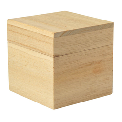VBS Aufbewahrungsbox Würfel, 8 cm x 8 cm x 8 cm