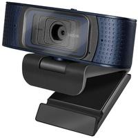 Logilink HD-USB-Webcam Pro, 80° Dual-Mikrofon Autofokus, Sichtschutzabdeckung,