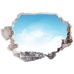 Wall-Art Wandtattoo Sommer Wandaufkleber Himmel (1 Stück) 100 cm x 68 cm x 0,1 cm