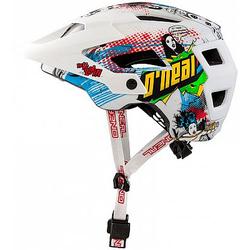 ONeal Defender 2.0 S18 Villian Fahrradhelm - Weiß - L/XL