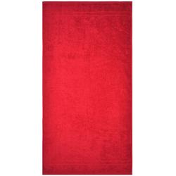 Dyckhoff Duschtuch ''Kristall'' Rot 70 x 140 cm