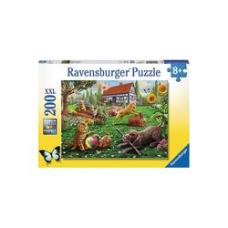 Ravensburger Puzzle Puzzle, 200 Teile XXL, 49x36 cm, Entdecker auf, Puzzleteile