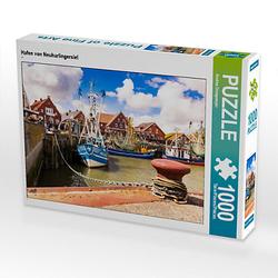 Hafen von Neuharlingersiel Lege-Größe 64 x 48 cm Foto-Puzzle Bild von Andrea Dreegmeyer Puzzle