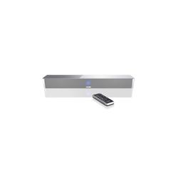 CANTON DM 5 silber mit Glas Soundbar (120.0 W)