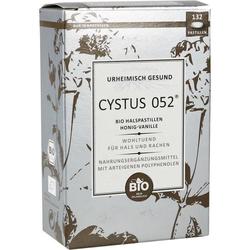 Cystus 052 Bio Halspastillen Honig-Vanille