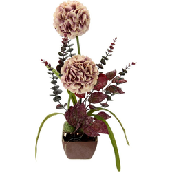 Kunstpflanze Allium, I.GE.A., Höhe 53 cm, Arrangement im Topf