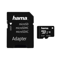 Hama Inkl. Adapter Speicherkarte (64 GB)
