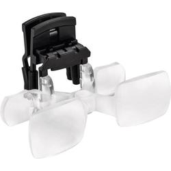 Eschenbach 162461 maxDETAIL clip Lupenbrille mit Clip Vergrößerungsfaktor: 2 x