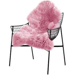 Teppich, Woltu, Faux Lammfell,Teppich für Wohnzimmer rosa