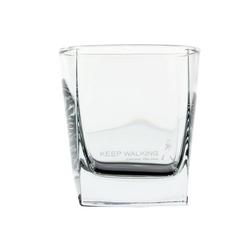 Johnnie Walker Whiskyglas Whisky Tumbler, Whiskyglas, kubisch, Glas, 300 ml
