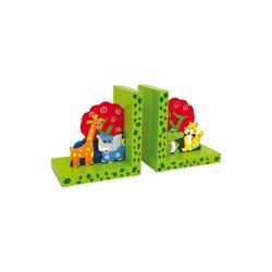 Small Foot Buchstütze Buchstütze Ritter Rost grün