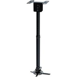 NewStar BEAMER-C100 Beamer-Deckenhalterung Neigbar, Drehbar Boden-/Deckenabstand (max.): 83cm Schwar