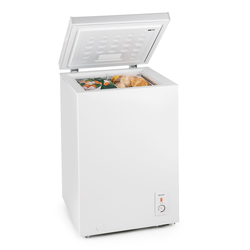 Gefriertruhe Gefrierschrank 100 L 75 W A+ weiß tiefkühltruhe »Iceblokk«, Kühlschränke, 57607130-0 weiß weiß
