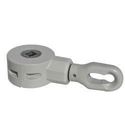 Fiamma Kit Getriebe & Öse Polar White für Markise ab 4,5 m