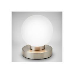 B.K.Licht LED Tischleuchte, LED Touch Tisch-Lampe Nachttisch-Lampe Schreibtischlampe Wohnzimmerlampen E14