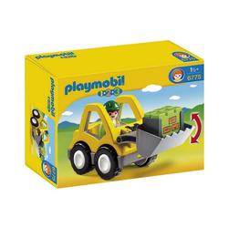 Playmobil® Spielfigur PLAYMOBIL® 6775 1-2-3: Radlader