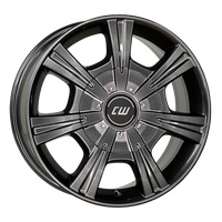 Borbet, CH, 7,5x17 ET61 5x118 71,1 mistral anthracite glossy CH 75761118571,1MAG