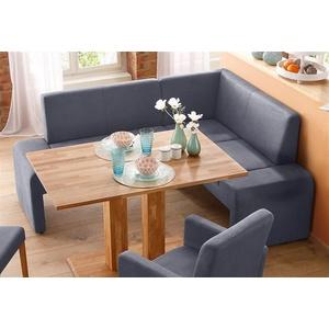 Home Affaire Truhen-Eckbank »Bologna«, grau, Langer Schenkel links, FSC®-zertifiziert