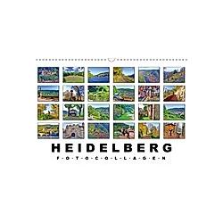 Heidelberg Fotocollagen (Wandkalender 2021 DIN A3 quer)