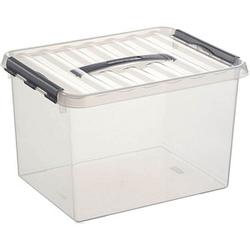 sunware Q-line Aufbewahrungsbox 22,0 l transparent 40,0 x 30,0 x 26,0 cm