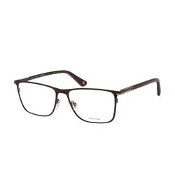 Police Westwing 1 VPL 690 0541, inkl. Gläser, Quadratische Brille, Herren