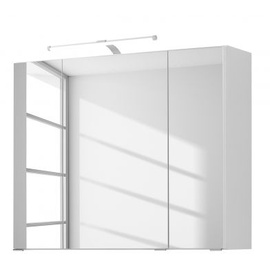 Held Seehan 90 cm mit Aufbauleuchte weiß