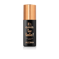 Alcina It's never too late Anti Falten Serum  30ml
