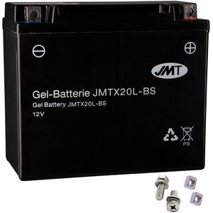 YTX20L-BS Gel Batterie für GL 1800 Goldwing ABS Baujahr 2006-2013 von JMT