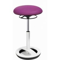 violett / alu weiß