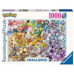 Ravensburger Puzzle 15166 Pokémon Challenge 1000 Teile Puzzle, 1000 Puzzleteile bunt